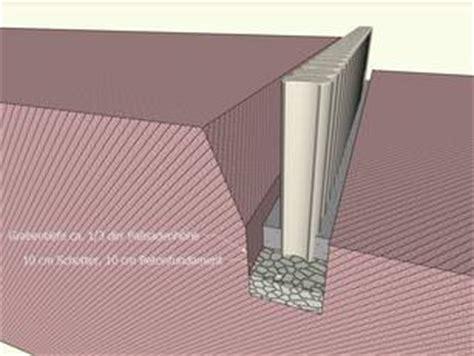 Was Kostet 1m Randstein Setzen by Betonpalisaden Preise Obi Mischungsverh 228 Ltnis Zement