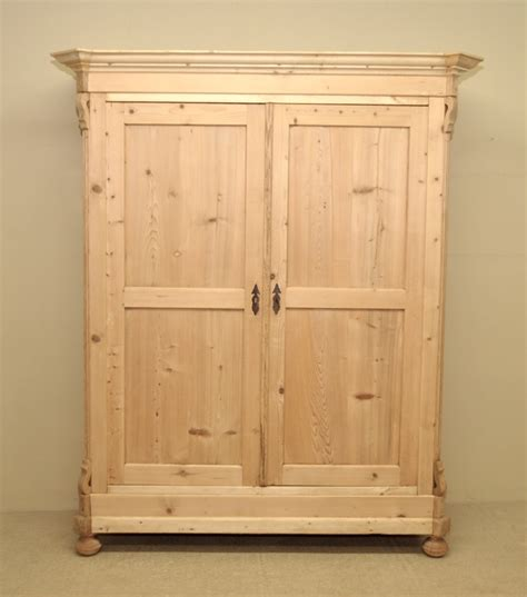 Pine Wardrobe Uk by Large Antique Pine Wardrobe 249323