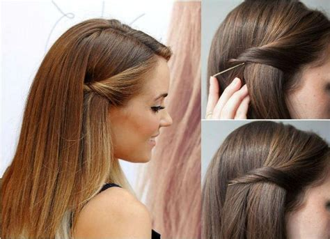 Pinned Back Hairstyles For Hair by 15 Best Collection Of Hairstyles Pinned Back