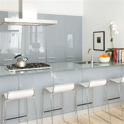 kitchen glass design how to use glass to brighten your home freshome com