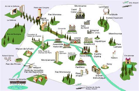 map of landmarks wednesday