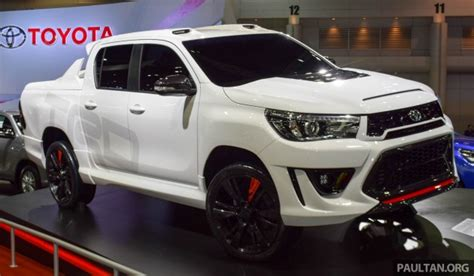Toyota Philippines Calculator Toyota Hilux Revo Sport Concept Unveiled In Bangkok