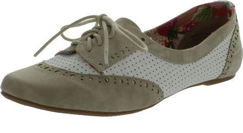 not shoes oxfords not womens high spirit oxfords flats shoes ebay