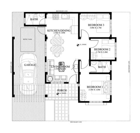 Small House Floor Plans In The Philippines Small House Design 2015012 Eplans Modern House