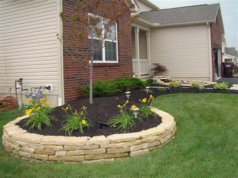 Small Garden Walls Small Retaining Wall Design