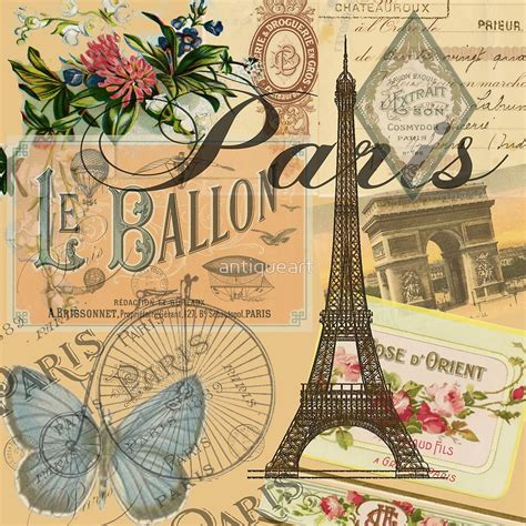 libro the european tribe vintage quot french paris vintage collage france europe travel quot by