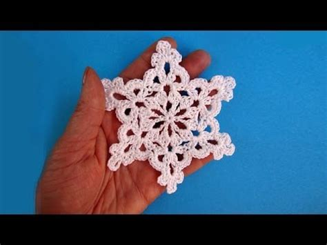 crochet snowflake pattern youtube how to crochet snowflake снежинка pattern for free