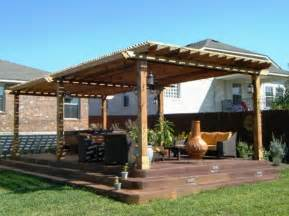 Covered Pergola Plans by Preview