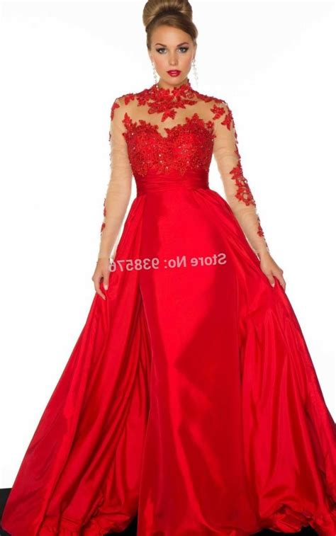 Plus size prom dresses with sleeves 2017   PlusLook.eu