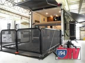4x4 Shade Awning 2014 Palomino Columbus 3800th Fifth Wheel Toy Hauler