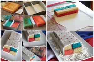4th of july battenberg cake
