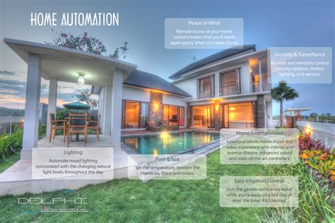 home automation technology automation delphi custom theatres