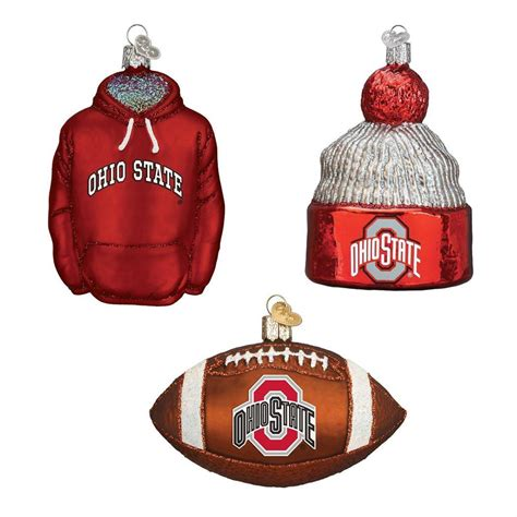 ohio state football christmas ornaments 3 partybell com