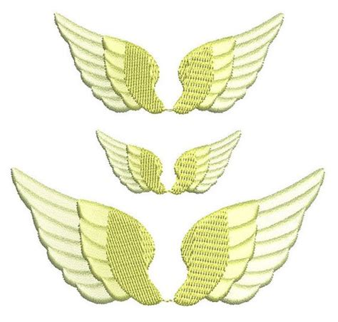 embroidery design angel wings pinterest the world s catalog of ideas