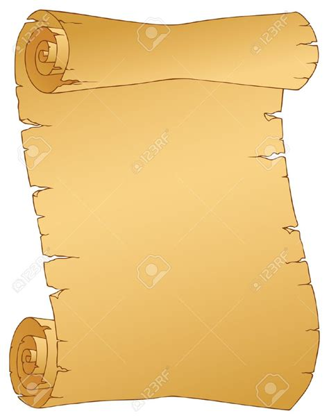 clip scroll parchment cliparts