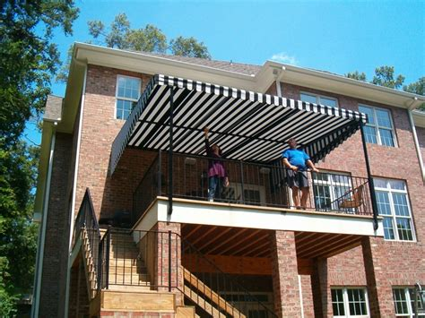 stationary awnings for decks 1000 ideas about deck awnings on pinterest retractable awning outdoor balcony and