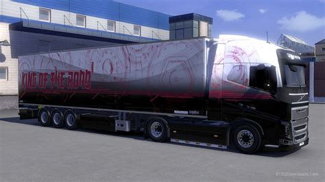 trailer volvo technology skin and trailer for volvo ets 2 mods