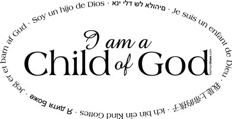 tiny talks i am a child of god books mormon i am a child of god oval black and white