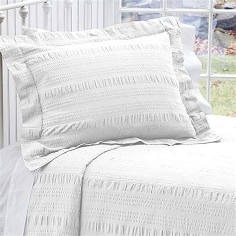 orvis solid seersucker bedspreadonly twin white review bed spreads cotton bedding bed