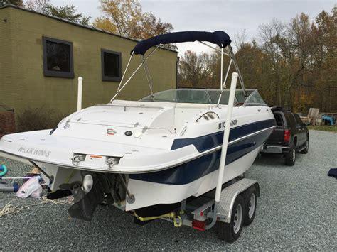 four winns boat canvas four winns 225 sundowner 2005 for sale for 24 900 boats