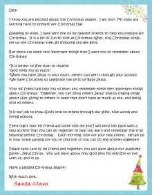 click here to the letter from santa and fill in