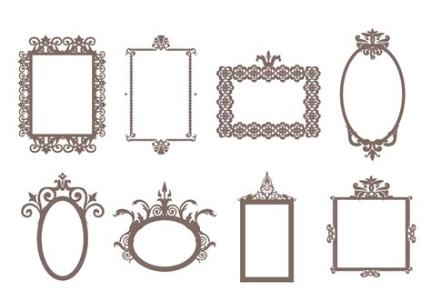 how to create a vector decorative frame in illustrator free decorative frames vector download free vector art