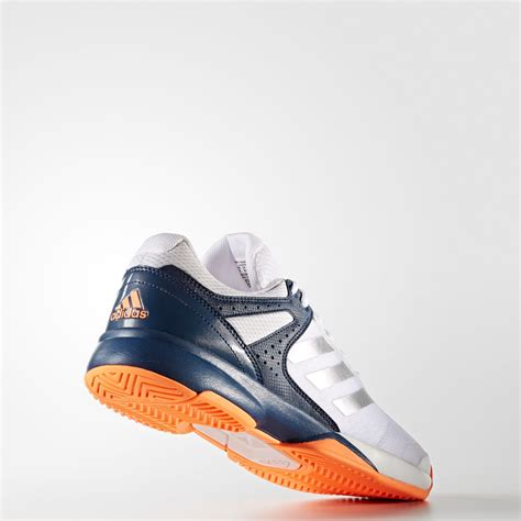Adidas Adizero Bloe adidas adizero mens white blue tennis court sports shoes