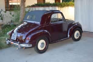 Fiat Topolino 1952 Fiat Topolino Quot C Quot For Sale Photos Technical