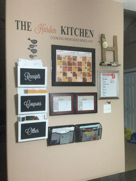 kitchen message board ideas 17 images about family command center on pinterest