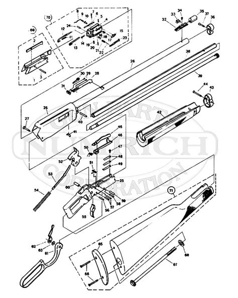 winchester 1894 parts diagram winchester 94ae exploded diagram of winchester 45 70 lever
