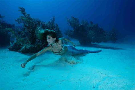 Waterproof Real Pict a real mermaid s waterproof secrets the cut