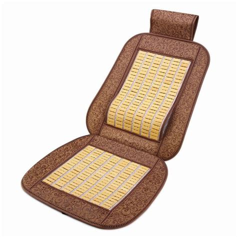Bamboo Chair Cushion by Car Bamboo Seat Cushion Help To Relieve Stress Of Work