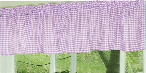 purple gingham curtains light purple gingham window valances