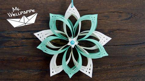 Sterne Basteln Aus Papierstreifen by Sterne Basteln Mit Papier Zu Weihnachten Sch 246 Ne
