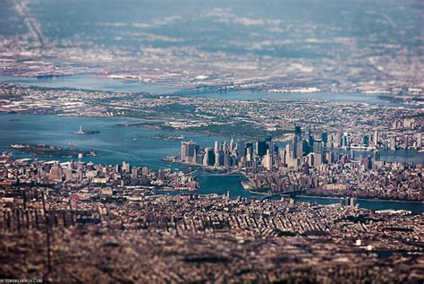 amazing aerial views of the city moving into new york