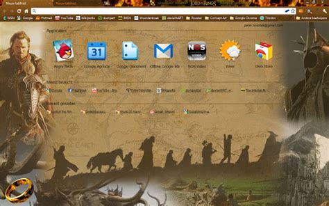 chrome theme lord of the rings lord of the rings chrome web store