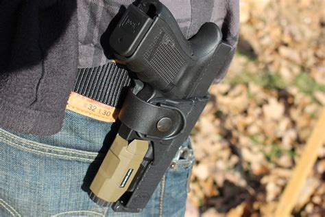 glock 19 tactical light fobus s any light tactical holster gunsamerica digest