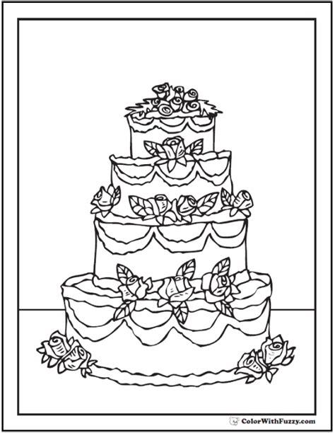 layer cake coloring pages 20 cake coloring pages customize pdf printables