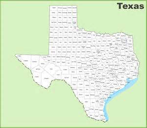 Tx Is In What County County Map