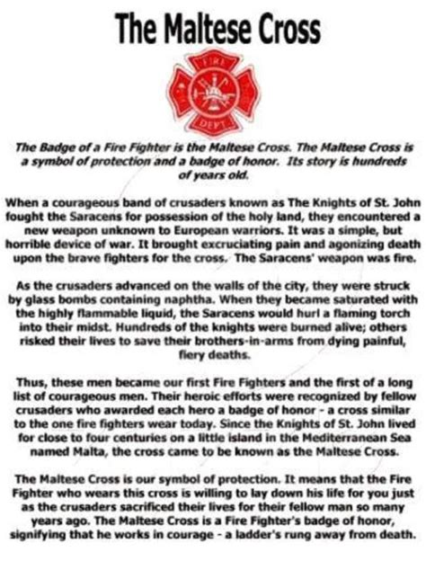 biography story meaning fireman paramedic story of the maltese cross