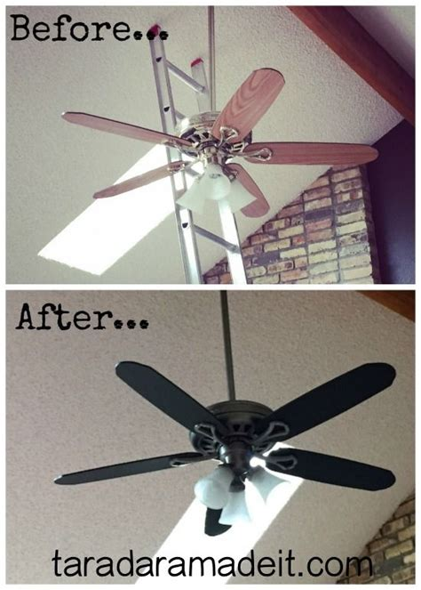 ceiling fan painting ideas don t replace your ceiling fan paint it without removing