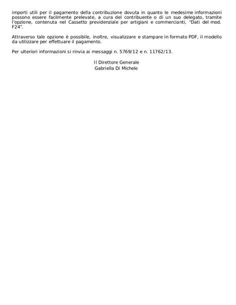 inps cassetto previdenziale artigiani inps contributi artigiani e commercianti 2017