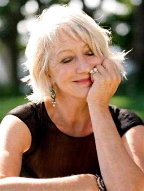 bob haircuts for older women side bangs best short haircuts for older women 2014 2015 short