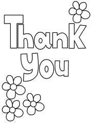 free template coloring thank you cards free printable thank you coloring cards cards create and