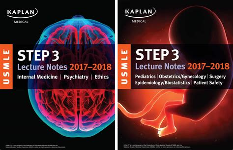usmle step 1 lecture notes 2018 biochemistry and genetics kaplan test prep books usmle step 3 lecture notes 2017 2018 2 book set book by