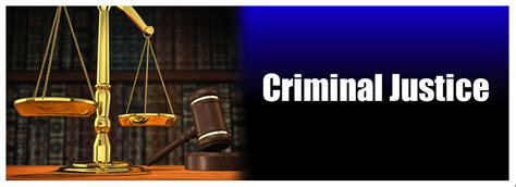 Mba In Criminal Justice In India by Criminal Justice
