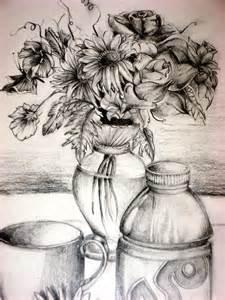 flower vase drawing by aim4beauty on deviantart