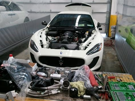 Maserati Supercharger by Supercharger Install 2012 Maserati Mc Stradale