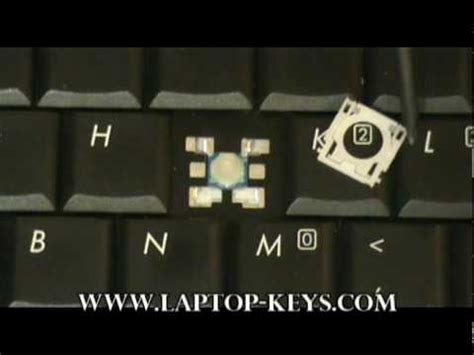 replacement keyboard key toshiba repair guide