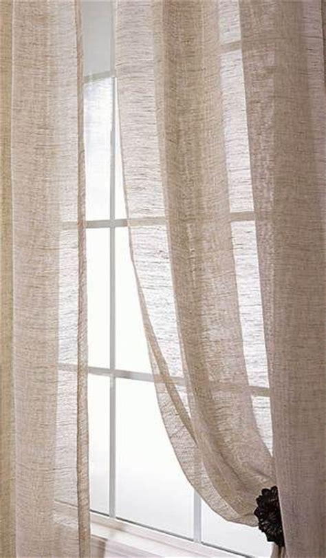 linen sheer curtains sheer linen curtains dream home pinterest